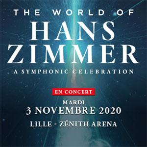 THE WORLD OF HANS ZIMMER Zénith Arena De Lille concert musiques de film