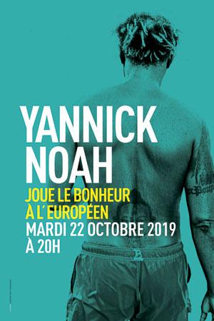 Plus d'infos sur l'évènement YANNICK NOAH