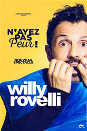 Plus d'infos sur l'évènement WILLY ROVELLI - N'AYEZ PAS PEUR