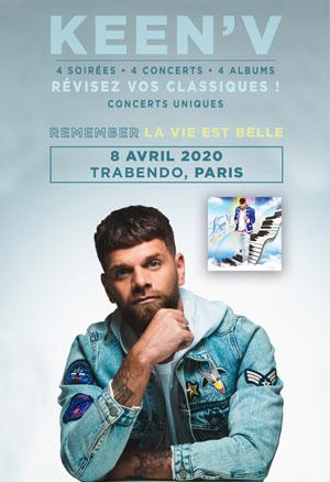 KEEN'V LE TRABENDO (PARC DE LA VILLETTE) concert de chanson française