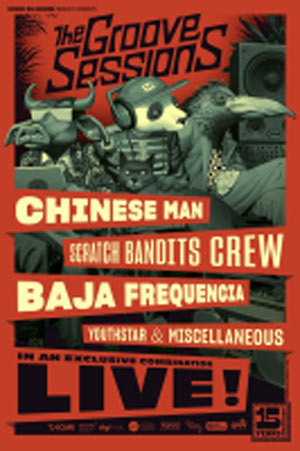 THE GROOVE SESSIONS LIVE Le Liberté concert de rap hip-hop