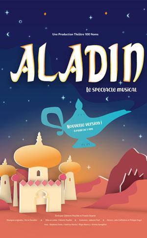 ALADIN - NOUVELLE VERSION THEATRE 100 NOMS pièce de théâtre pour enfant