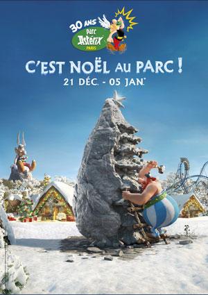 NOËL AU PARC ASTÉRIX - NOËL GAULOIS Parc Astérix événement