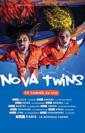 Plus d'infos sur l'évènement NOVA TWINS