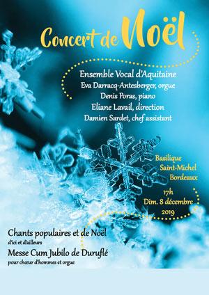 CONCERT DE NOEL BASILIQUE SAINT MICHEL récital, chant classique