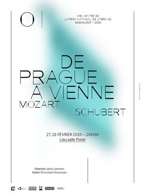 DE PRAGUE A VIENNE Salle Poirel concert de musique classique