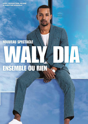 WALY DIA Le Corum one man/woman show
