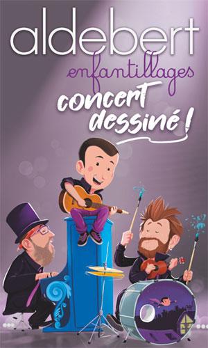 ALDEBERT Casino Barrière de Toulouse concert pour enfant