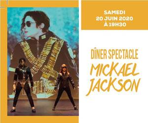 Plus d'infos sur l'évènement DINER SPECTACLE MICKAEL JACKSON