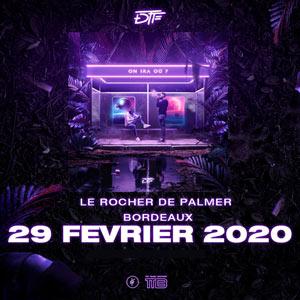 DTF Le Rocher de Palmer concert de rap hip-hop