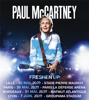PAUL MCCARTNEY Groupama Stadium concert de rock