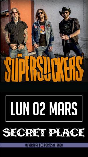 Plus d'infos sur l'évènement SUPERSUCKERS