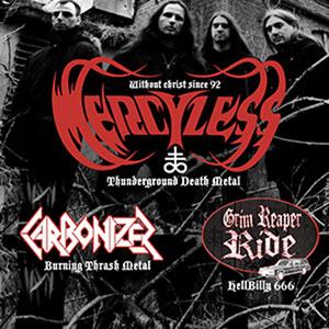 MERCYLESS LA GESPE concert de rock