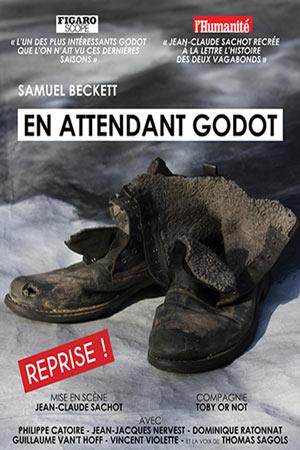 EN ATTENDANT GODOT Théâtre Essaion de Paris pièce de théâtre contemporain