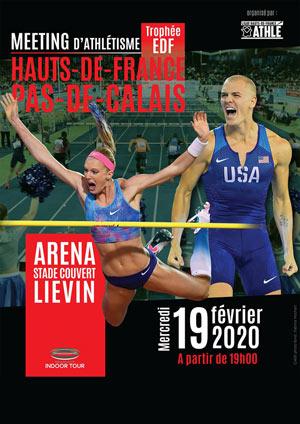 MEETING HAUTS-DE-FRANCE ARENA STADE COUVERT rencontre, compétition d'athlétisme