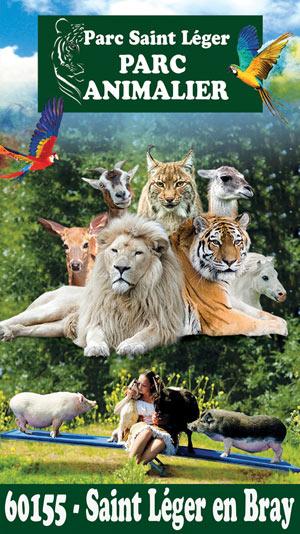PARC SAINT LÉGER - PARC ANIMALIER PARC SAINT LÉGER visite de parc animalier