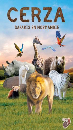 PARC ZOOLOGIQUE CERZA PARC ZOOLOGIQUE CERZA visite de parc animalier
