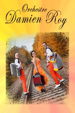 THE DANSANT - ORCHESTRE DAMIEN ROY ESPACE CULTUREL LES QUATRE VENTS concert de musique d'Europe