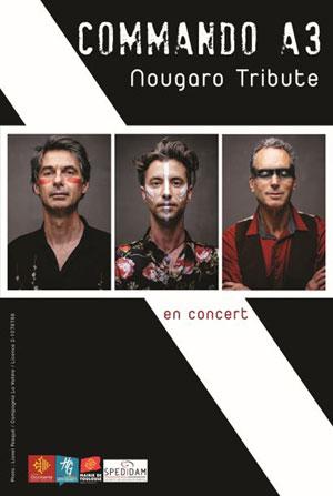 COMMANDO A3 THEATRE DES GRANDS ENFANTS concert de chanson française