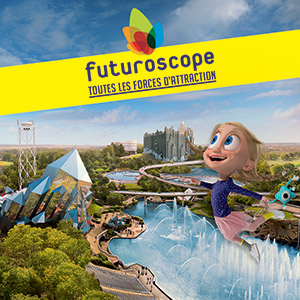 FUTUROSCOPE - BILLET NON DATE LE FUTUROSCOPE événement