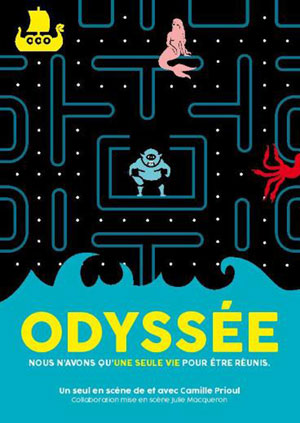 ODYSSEE ESPACE GERSON one man/woman show