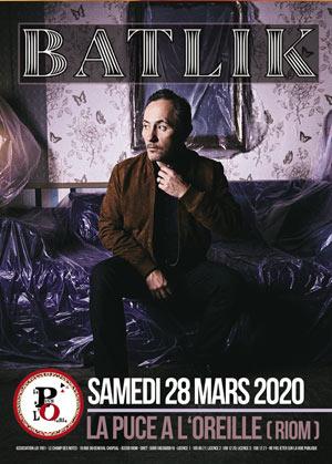 BATLIK La Puce à l' Oreille concert de chanson française