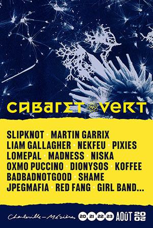 CABARET VERT + CAMPING - 1 JOUR STADE BAYARD concert de rock