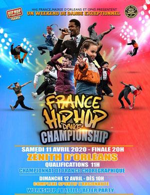 HIP HOP INTERNATIONAL FRANCE 2020 Zénith événement
