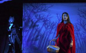 LE PETIT CHAPERON ROUGE Théâtre Du Pont Tournant pièce de théâtre pour enfant