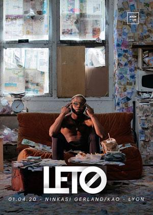 LETO NINKASI GERLAND KAO concert de rap hip-hop