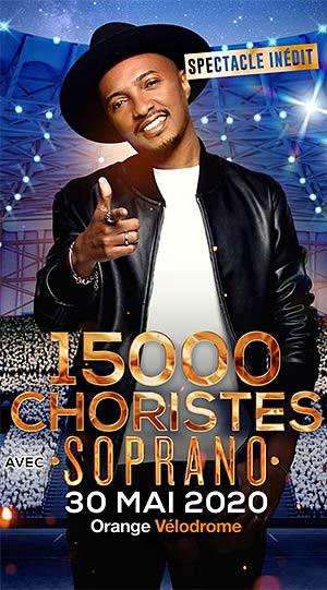 15000 CHORISTES AVEC SOPRANO