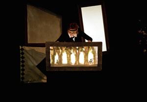 ANOUSCHKA ET LE CHAT BOTTE ESPACE K pièce de théâtre pour enfant