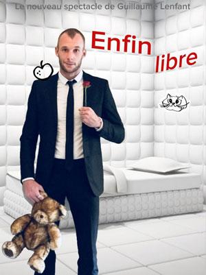 ENFIN LIBRE THEATRE L'ALPHABET one man/woman show