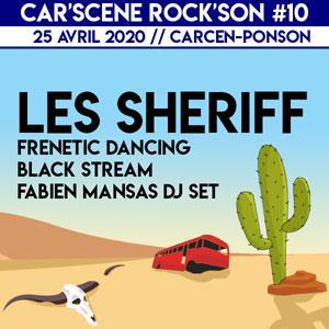 FESTIVAL CAR'SCENE ROCK'SON 10 SALLE POYVALENTE concert de rock