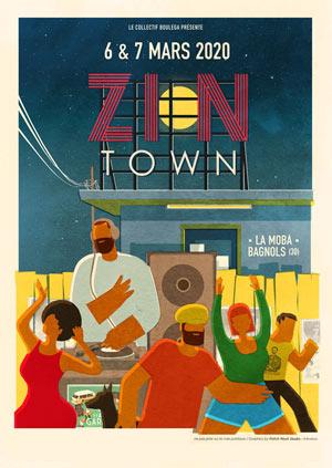 Plus d'infos sur l'évènement FESTIVAL ZION TOWN 2020