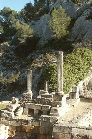 SITE ARCHEOLOGIQUE DE GLANUM SITE ARCHEOLOGIQUE DE GLANUM visite de monument