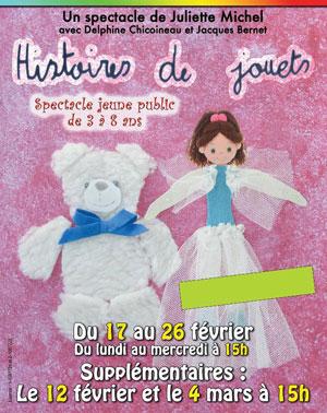 HISTOIRE DE JOUETS LA BOITE A RIRE pièce de théâtre pour enfant
