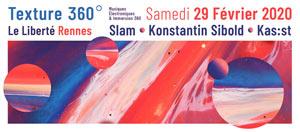 TEXTURE 360° Le Liberté concert d'électro