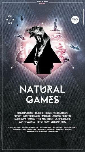 NATURAL GAMES 2020 PARC DE LOISIRS DE LA MALADRERIE concert d'électro