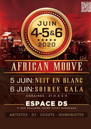 LE GALA AFRICAN MOOVE Espace DS concert de musique d'Afrique