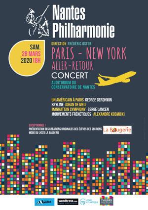 PARIS - NEW YORK AR AUDIT.  BERLIOZ DU CONSERVATOIRE concert de musique classique