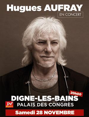 HUGUES AUFRAY PALAIS DES CONGRES concert de chanson française