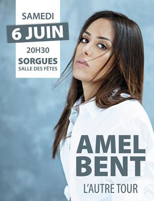 AMEL BENT SALLE DES FETES concert de chanson française