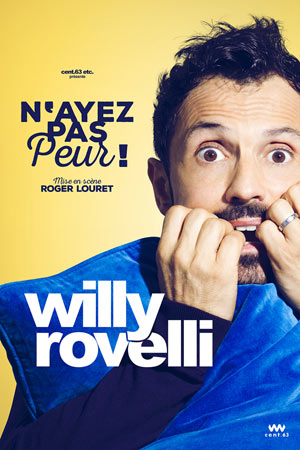 WILLY ROVELLI LA NOUVELLE COMEDIE GALLIEN one man/woman show