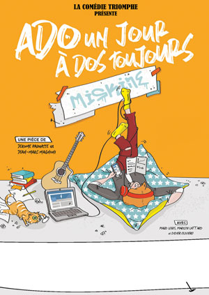 ADO UN JOUR A DOS TOUJOURS LE TRIOMPHE comédie, pièce de théâtre d'humour