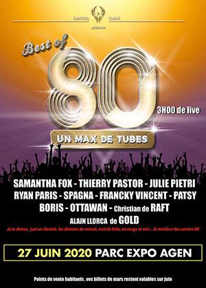 BEST OF 80 CENTRE DES CONGRES concert de chanson française