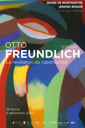 OTTO FREUNDLICH 1878-1943 Musée de Montmartre exposition