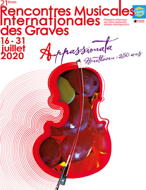 RENCONTRES MUSICALES DES GRAVES Institut Culturel Bernard Magrez concert de musique classique