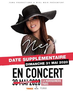 NEJ La Maroquinerie concert de rap hip-hop