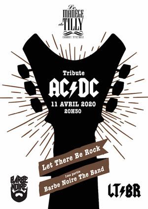 TRIBUTE TO AC/DC LE MANÈGE DE TILLY concert de hard-rock métal